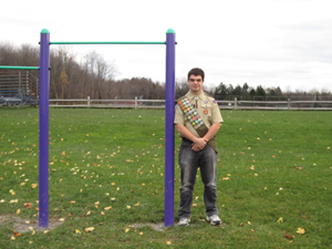 Eagle Scout Renovates Marcy Town Park for Community Servicemarcy town