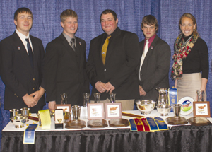 Dairy Judging Team Completes Successful Year 171 Madison