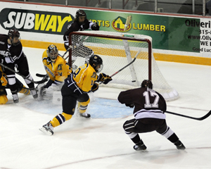 Men's Hockey Begins ECAC Hockey Action with Loss to ...